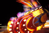 fairground stock photography | Germany, Munich, Oktoberfest, Fairgrounds at night, image id 3-952-59