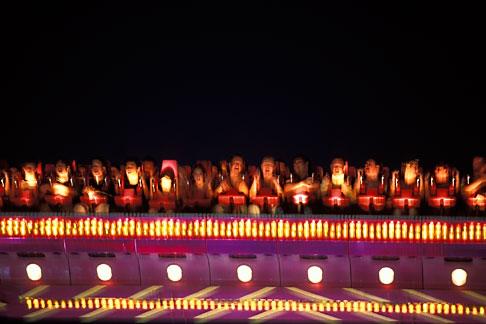 image 3-952-67 Germany, Munich, Oktoberfest, Fairgrounds at night