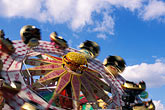 spinning stock photography | Germany, Munich, Oktoberfest, Carnival ride, image id 3-953-78