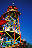 tower stock photography | Germany, Munich, Oktoberfest, Toboggan carnival ride, image id 3-954-17