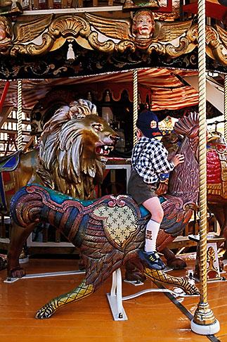 image 3-954-22 Germany, Munich, Oktoberfest, Carousel