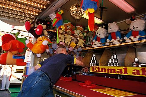 image 3-954-28 Germany, Munich, Oktoberfest, Ball toss gallery