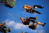 amusement stock photography | Germany, Munich, Oktoberfest, Wellenflug carnival ride, image id 3-954-5
