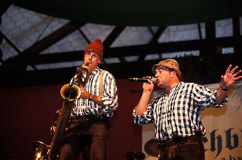 image 3-955-63 Germany, Munich, Oktoberfest, Blechblosn, a Bavarian Band