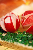 edible stock photography | Germany, Munich, Oktoberfest, Radishes and bread, image id 3-956-19