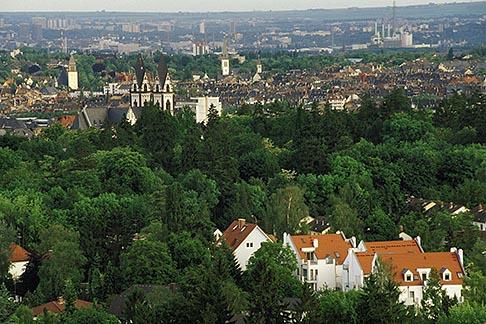 image 5-240-6 Germany, Wiesbaden, View overlooking city from Neroberg