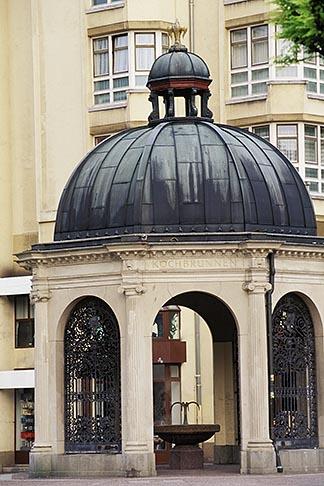 image 5-241-25 Germany, Wiesbaden, Kochbrunnen Temple, site of 15 hot springs