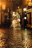 wet stock photography | Germany, Frankfurt, Alt Sachsenhausen at night, image id 5-549-5