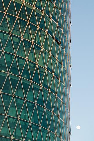 image 8-710-1386 German, Frankfurt, Westhafen office tower