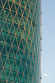 vertical stock photography | German, Frankfurt, Westhafen office tower, image id 8-710-1386