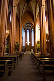 vertical stock photography | German, Frankfurt, Dom, Cathedral of St. Bartholomew, interior, image id 8-710-30