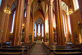 interior stock photography | German, Frankfurt, Dom, Cathedral of St. Bartholomew, interior, image id 8-710-43
