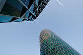 horizontal stock photography | German, Frankfurt, Westhafen office tower, image id 8-710-92
