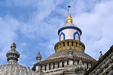 blue sky stock photography | India, Goa, Shri Manguesh Temple, Ponda, image id 0-601-67