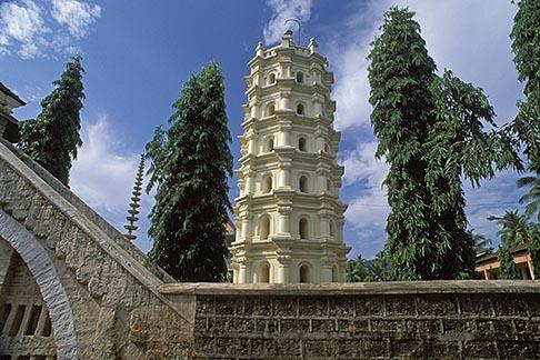 image 0-602-13 India, Goa, Shri Mahalsa Temple, Ponda