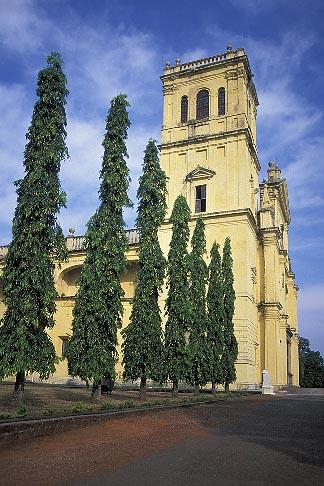 image 0-603-41 India, Goa, Se Cathedral, Old Goa