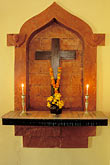 crucifix stock photography | India, Goa, Shrine, Ancestral Goa, Luotolim, image id 0-603-64