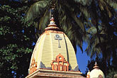 temple building detail stock photography | India, Goa, Hindu temple, Calangute, image id 0-604-9