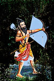 vertical stock photography | India, Goa, Krishna with bow and arrow, image id 0-606-12