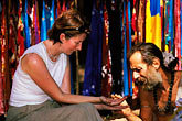 two women stock photography | India, Goa, Anjuna flea market, image id 0-607-44
