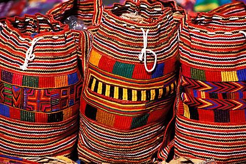 image 0-608-10 India, Goa, Fabric bags