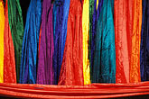 textiles stock photography | India, Goa, Fabrics, Anjuna flea market, image id 0-608-12