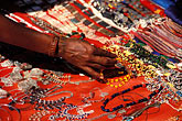 red stock photography | India, Goa, Jewelry, Anjuna flea market, image id 0-608-24