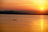quiet stock photography | India, Goa, Sunrise over Mandovi River, image id 0-608-68