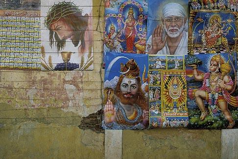 image 0-611-16 India, Goa, Panjim, Posters