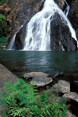 image 0-612-71 India, Goa, Dudhsagar Falls
