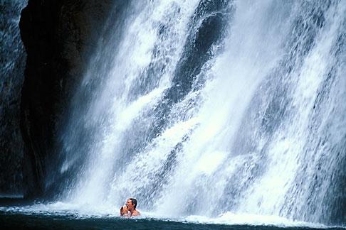 image 0-612-83 India, Goa, Dudhsagar Falls