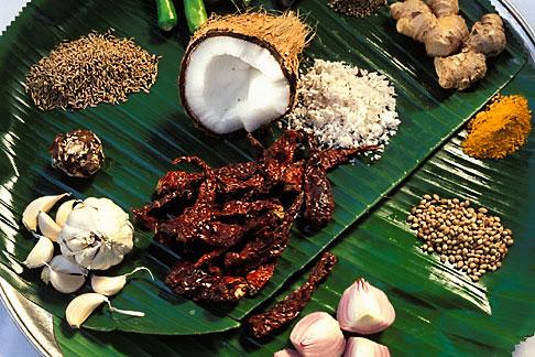 image 0-613-75 India, Goa, Goan spices