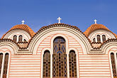 domed roofs stock photography | Greece, Athens, Thisso, Agias Marinas Church, image id 3-651-23
