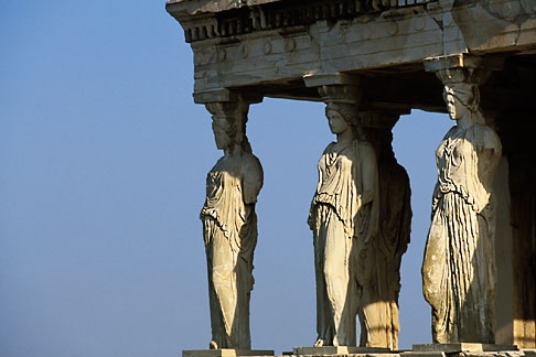 image 3-652-1 Greece, Athens, Acropolis, Caryatids