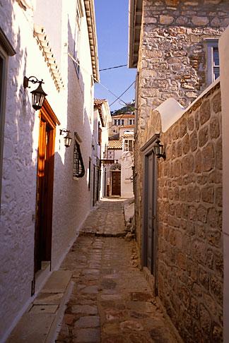 image 3-700-27 Greece, Hydra, Street scene