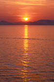 saronic islands stock photography | Greece, Hydra, Sunset over Gulf of Hydra, image id 3-700-64