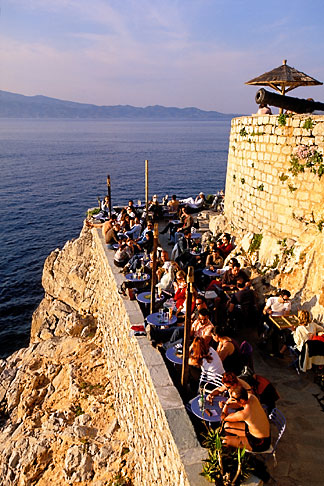 image 3-701-22 Greece, Hydra, Ydronetta Cafe and Bar