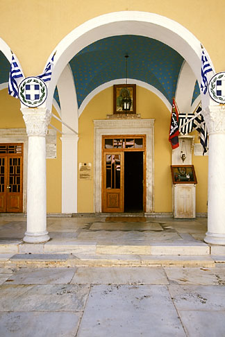 image 3-702-7 Greece, Hydra, Monastery of the Assumption of the Virgin Mary