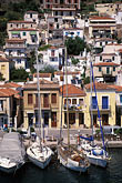sailboat stock photography | Greece, Poros, Waterfront, image id 3-710-3