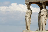 athens stock photography | Greece, Athens, Acropolis, Porch of the Caryatids, Erectheion, image id 7-640-292