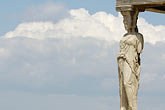 athens stock photography | Greece, Athens, Acropolis, Porch of the Caryatids, Erectheion, image id 7-640-293