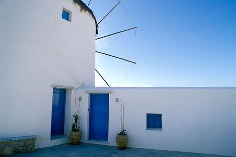 image 9-261-34 Greece, Mykonos, Windmill