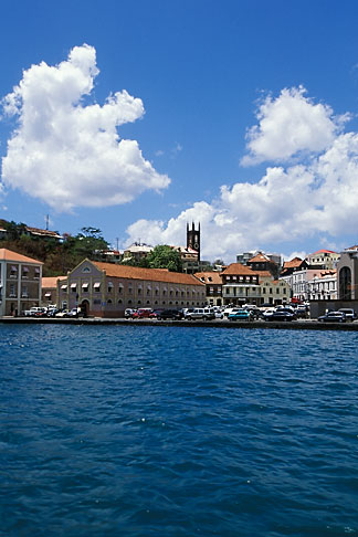 image 3-590-2 Grenada, St Georges, Carenage Harbor