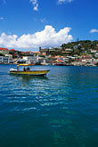 hill town stock photography | Grenada, St. George�s, Carenage (Harbor), image id 3-590-32