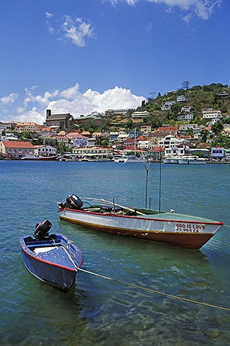 image 3-590-7 Grenada, St Georges, Carenage, Harbor