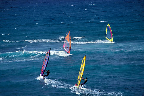 image 5-334-26 Hawaii, Maui, Windsurfing, Hookipa Beach Park