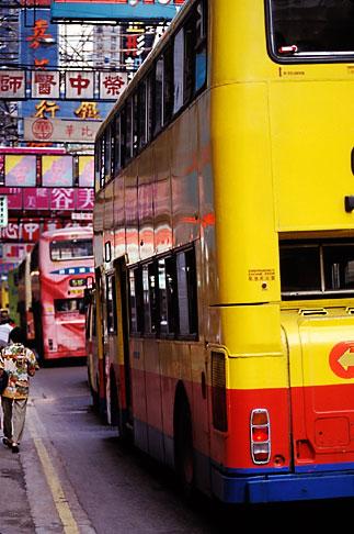 image 4-319-10 Hong Kong, Buses, Causeway Bay