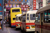 downtown stock photography | Hong Kong, Buses & traffic, Causeway Bay, image id 4-319-13