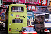 downtown stock photography | Hong Kong, Buses & traffic, Causeway Bay, image id 4-319-4