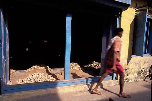image 7-103-34 India, Cochin, Spice warehouse